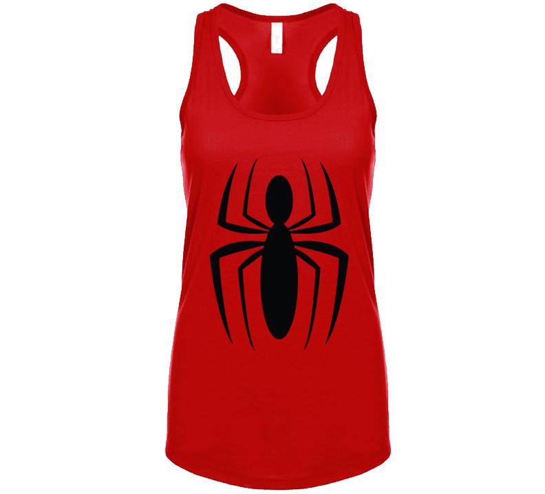 Black Spider  T Shirt