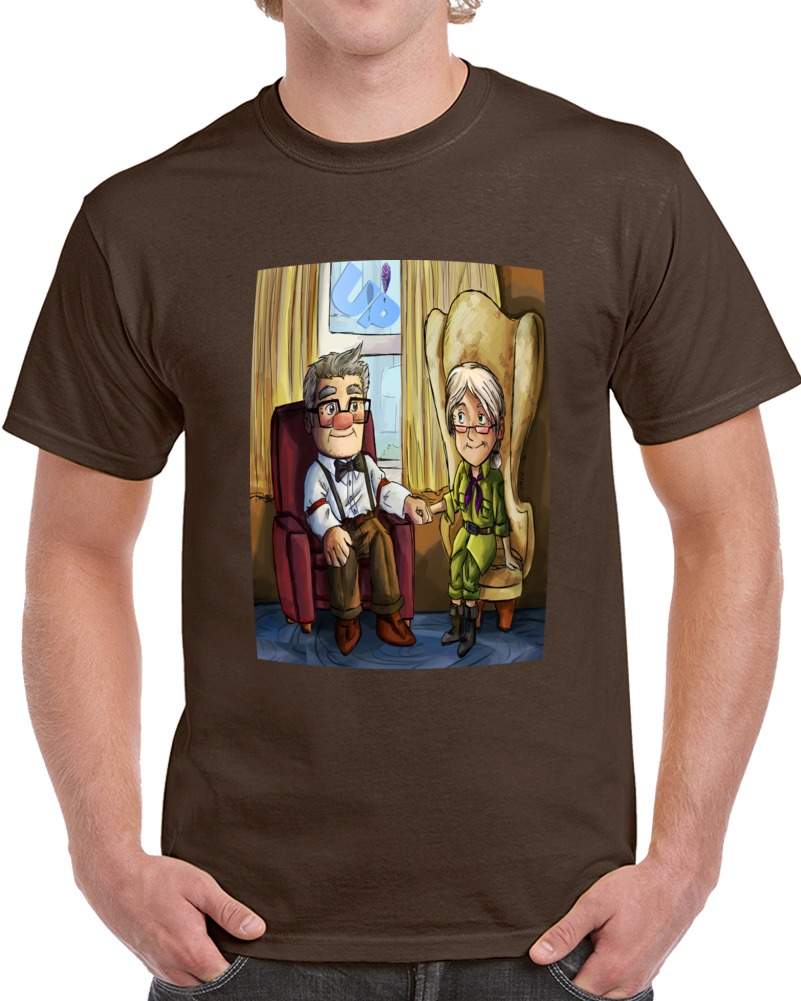 Up Carl And Ellie Love  T Shirt