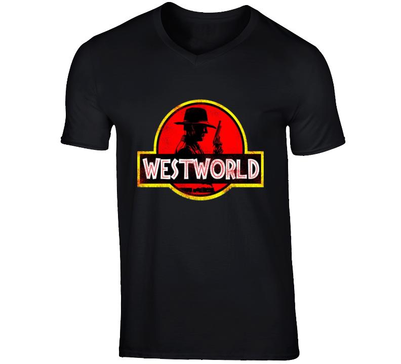 Westworld Jurassic Park T Shirt