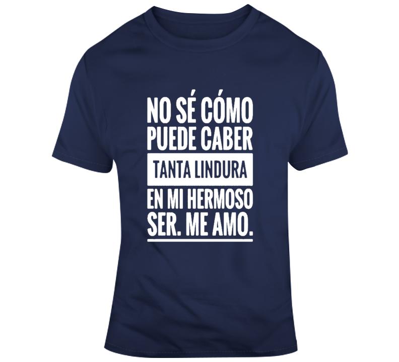 Frases En Espanol Mi Cuerpo  T Shirt