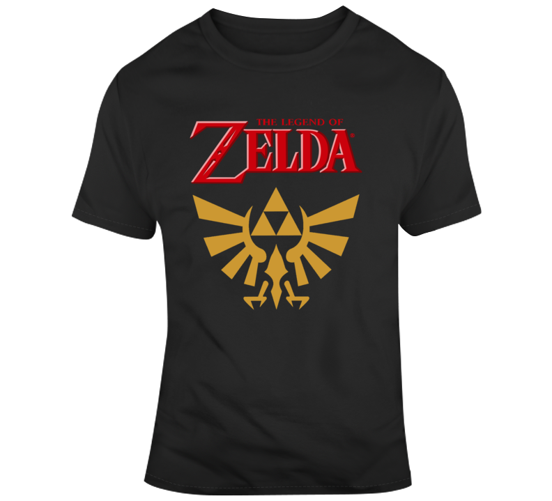 The Legend Of Zelda Logo T Shirt