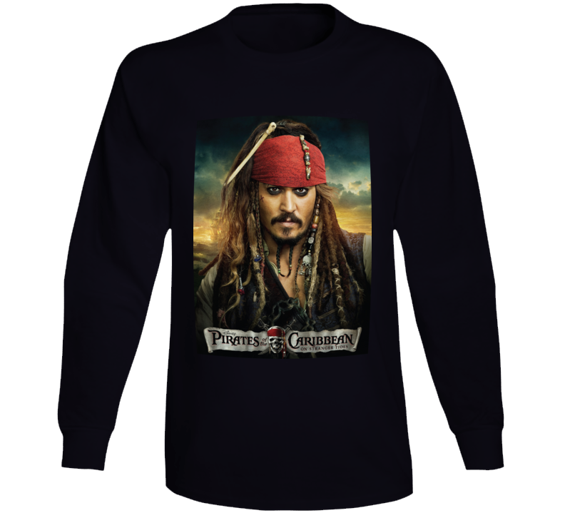 Pirates Of The Caribbean Long Sleeve