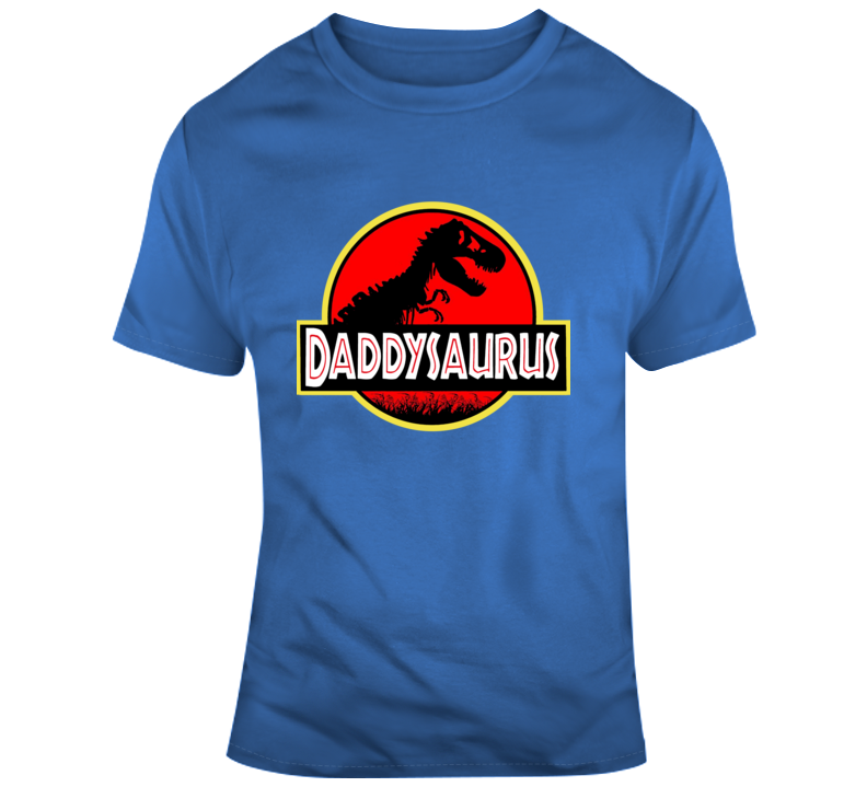 Fathers Day Collection Daddysaurus Jurassic Park  T Shirt