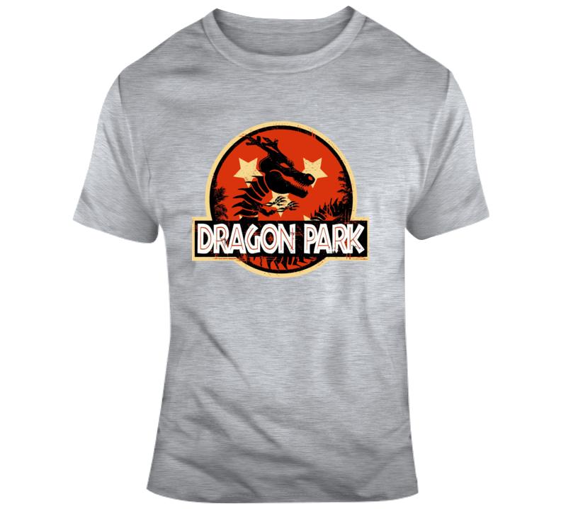 Dragon Ball Z Shenron Jurassic Park T Shirt