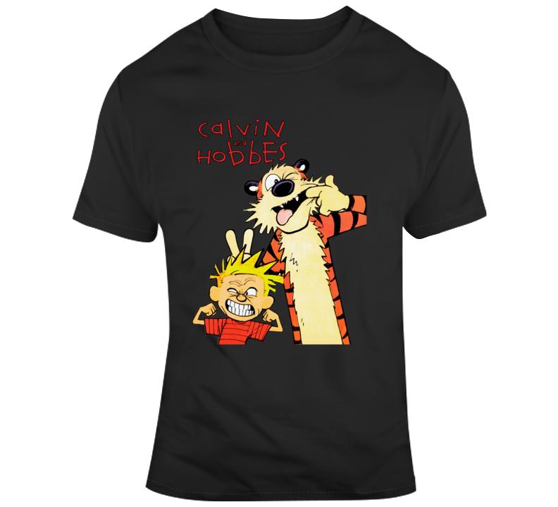 Calvin And Hobbes T Shirt