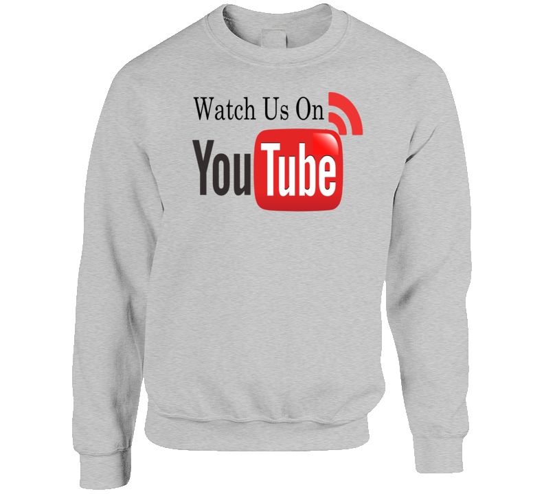 Watch Us On Youtube Wi Fi You Tube T Shirt