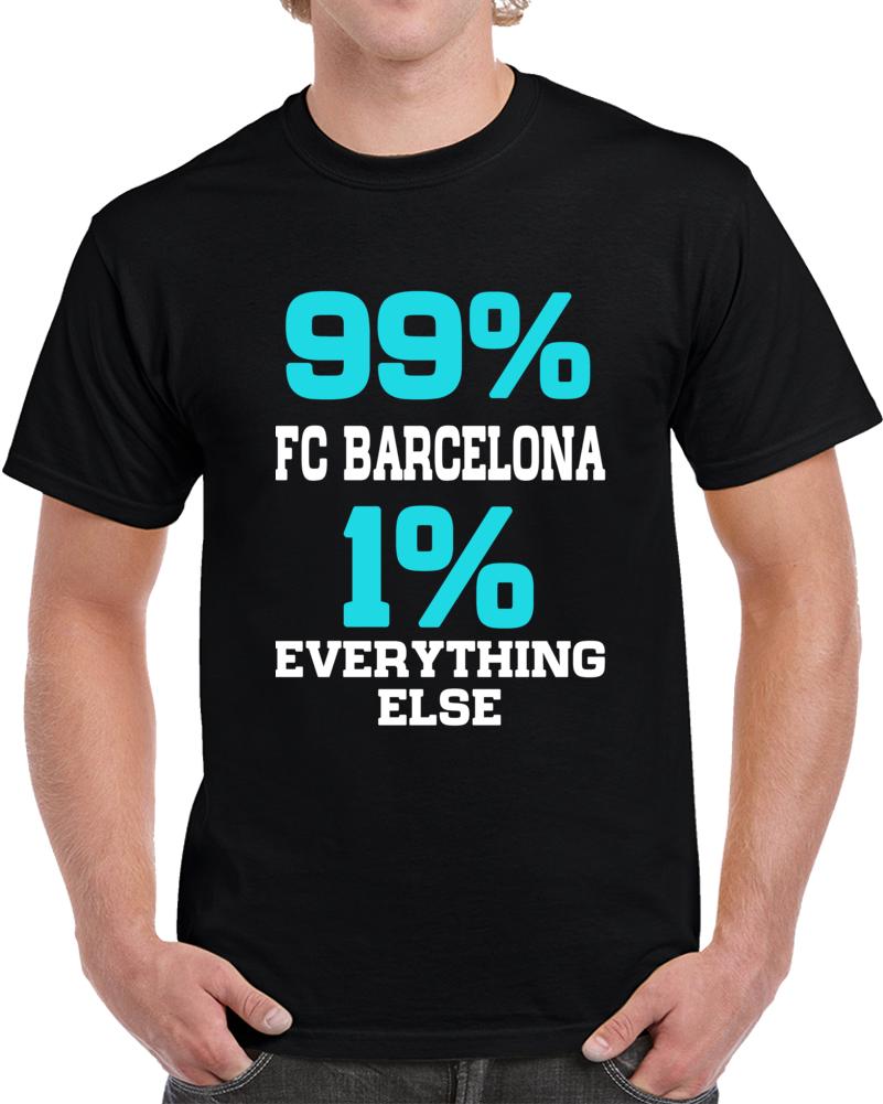 Futball Club Barcelona  T Shirt