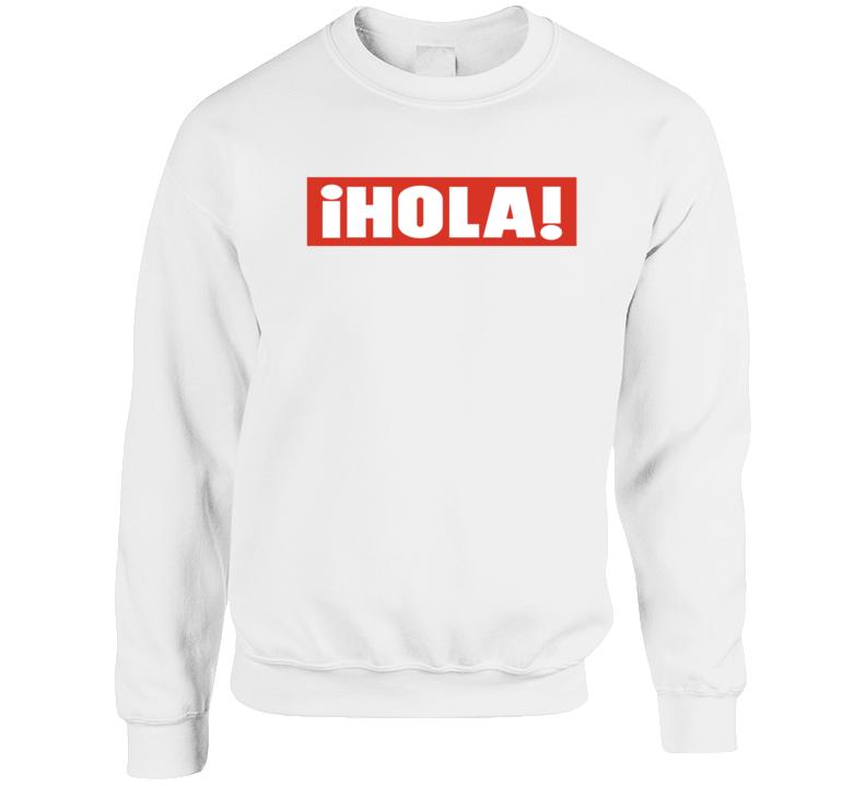 Hola Logo  Crewneck Sweatshirt