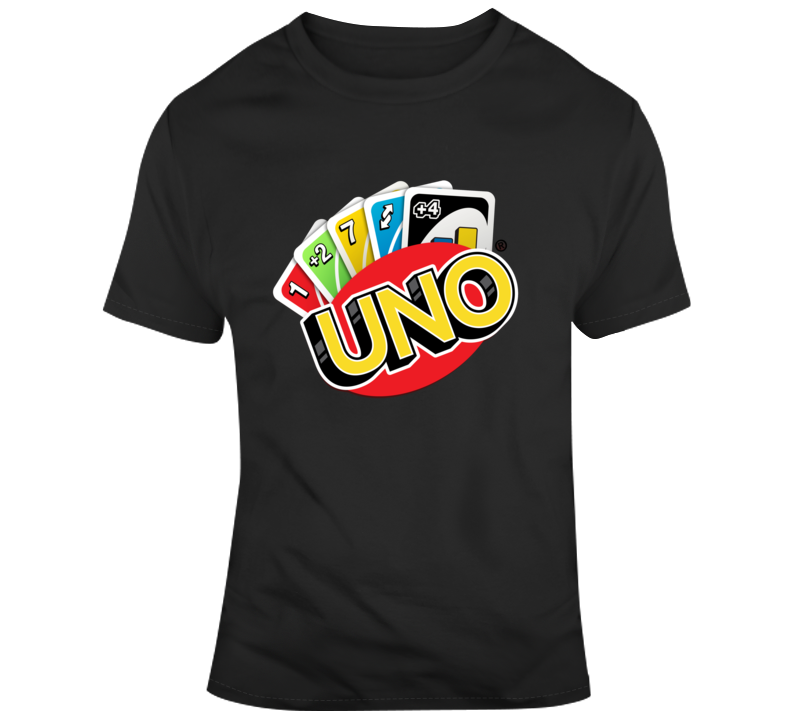Uno Playing Cards T Shirt