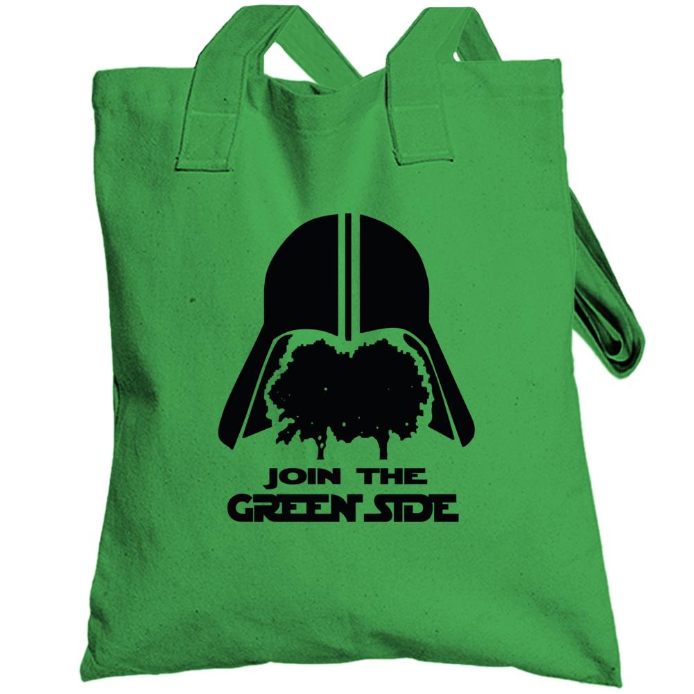 Join The Green Side Star Wars Darth Vader Totebag