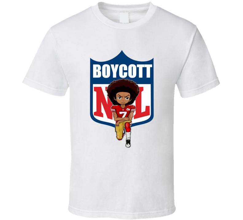 f84616a23 Litboss Colin Kaepernick United We Stand No Nfl Boycott Kneeling Petition  Custom Made T Shirt