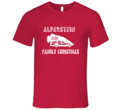 Alperstein Family Christmas 2014 Vacation Parody T Shirt