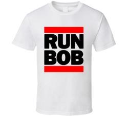 RUN BOB RETRO RAP HIP HOP COOL T SHIRT
