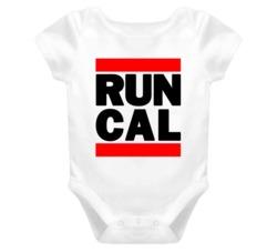 RUN CAL RETRO HIP HOP RAP BABY ONE PIECE T SHIRT