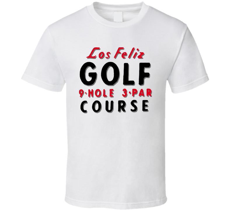 Los Feliz Golf Course 9 Hole Swingers Vaughn Money T Shirt