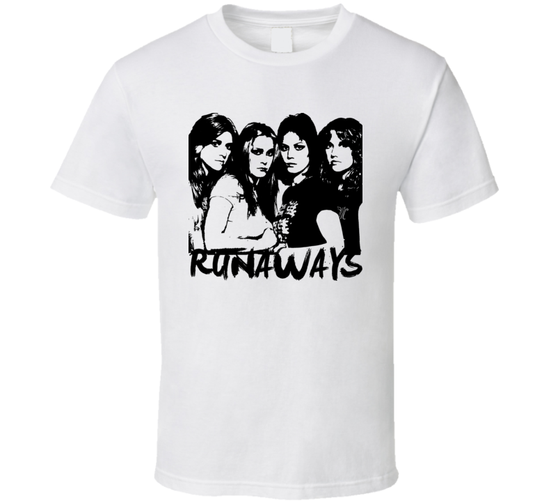 Joan Jett Rocker Runaways 80s Retro Baby One Piece T Shirt