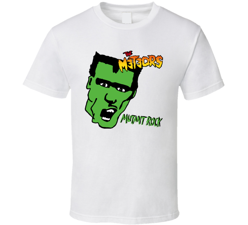 The Meteors Mutant Rock Music Baby One Piece T Shirt