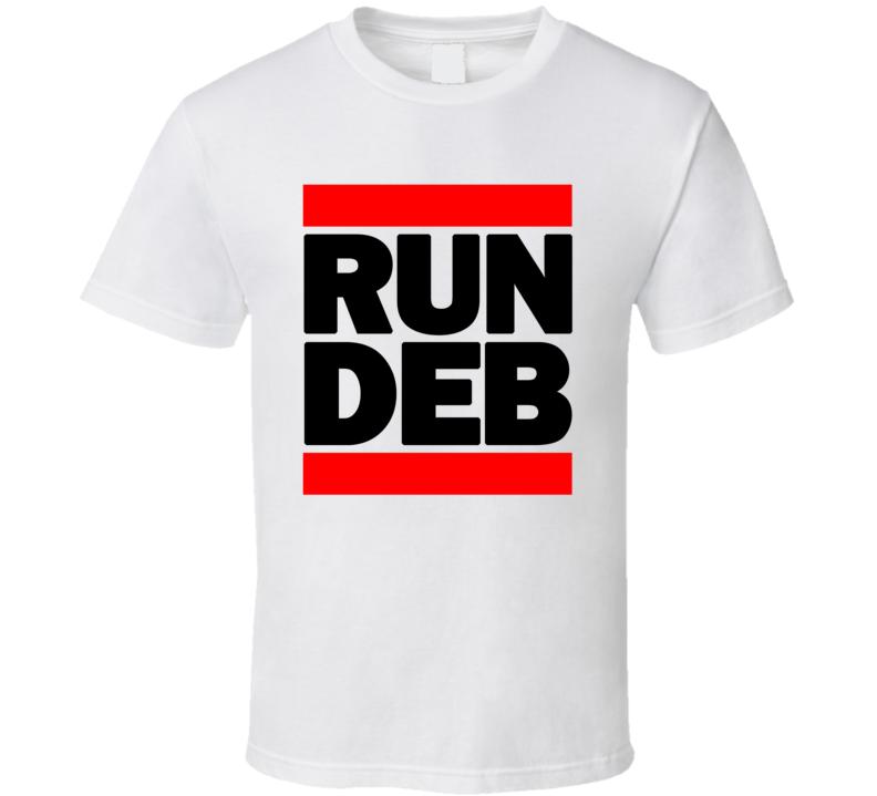 RUN DEB RETRO RAP HIP HOP RUNNING RUNNER T SHIRT