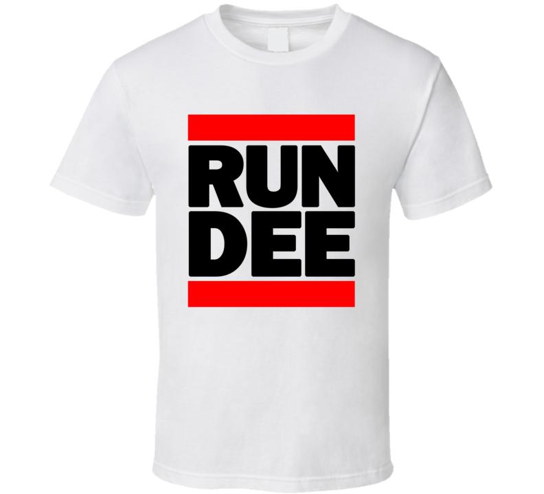 RUN DEE RETRO RAP HIP HOP RUNNING RUNNER T SHIRT