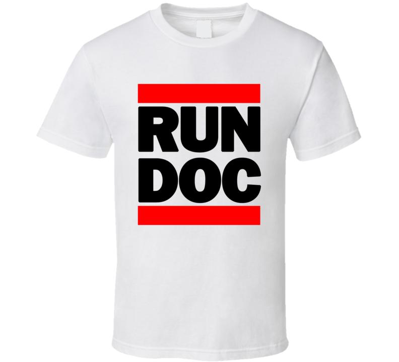 RUN DOC RETRO RAP HIP HOP RUNNING RUNNER T SHIRT