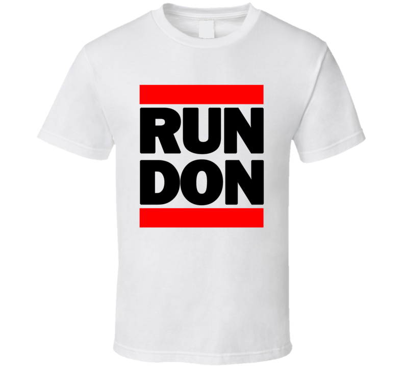 RUN DON RETRO RAP HIP HOP RUNNING RUNNER T SHIRT