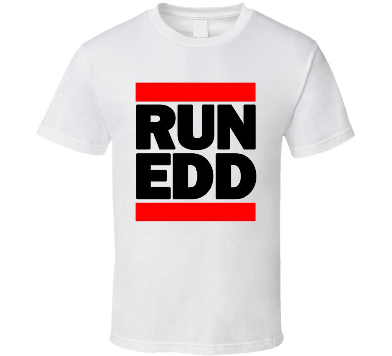RUN EDD RETRO RAP HIP HOP RUNNING RUNNER T SHIRT