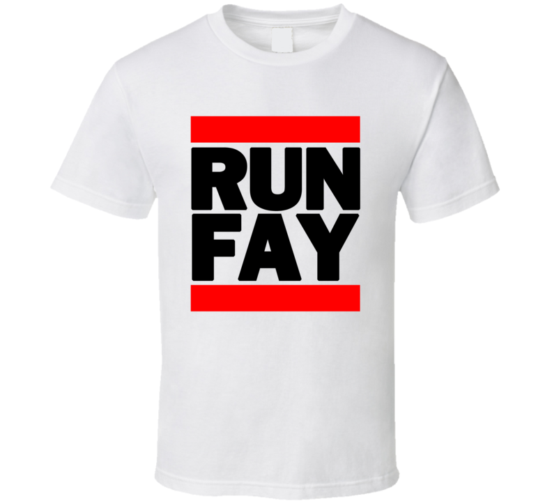 RUN FAY RETRO RAP HIP HOP RUNNING RUNNER T SHIRT