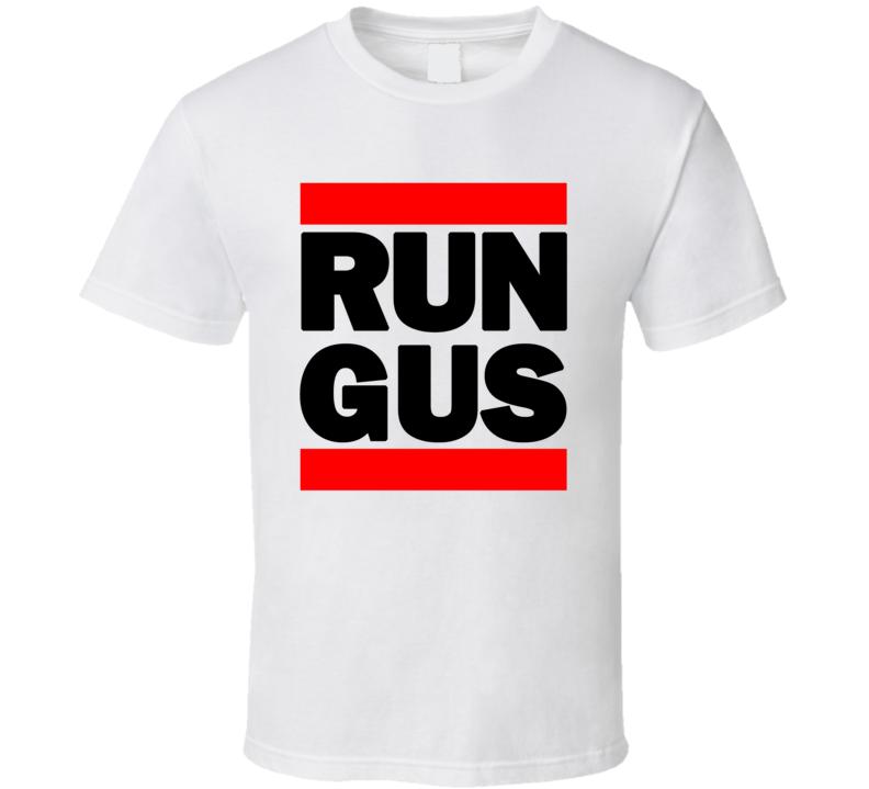 RUN GUS RETRO RAP HIP HOP RUNNING RUNNER T SHIRT