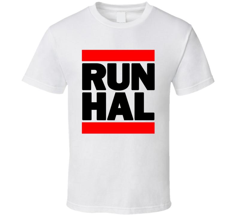 RUN HAL RETRO RAP HIP HOP RUNNING RUNNER T SHIRT