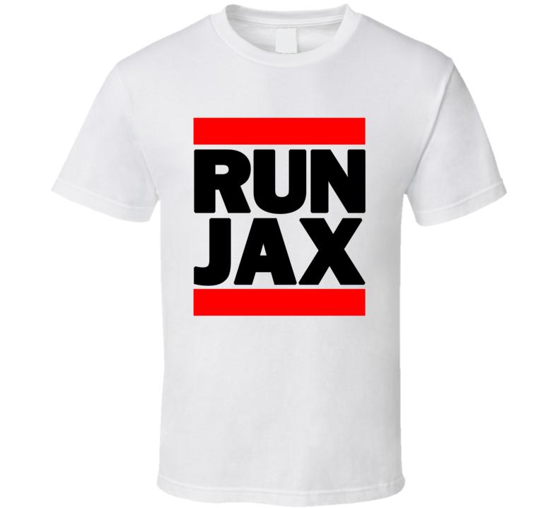 RUN JAX RETRO RAP HIP HOP RUNNING RUNNER T SHIRT