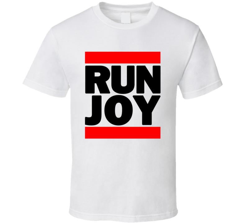 RUN JOY RETRO RAP HIP HOP RUNNING RUNNER T SHIRT