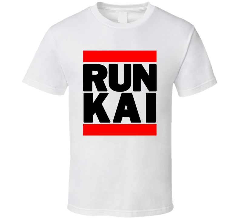 RUN KAI RETRO RAP HIP HOP RUNNING RUNNER T SHIRT