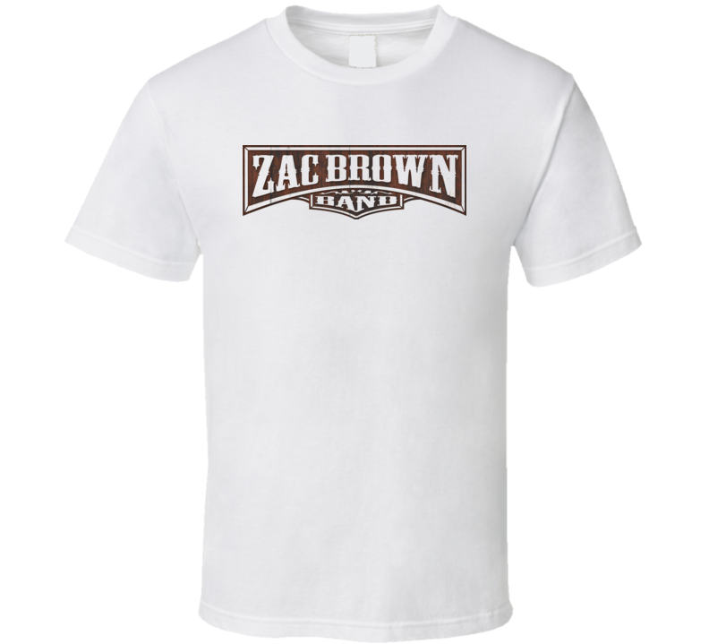 Zac Brown Band Country The Foundation T Shirt