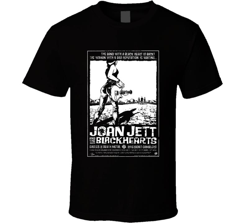 Joan Jett & The Blackhearts Runaways T Shirt