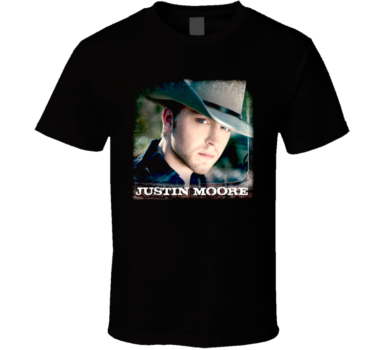 Justin Moore Country Small Town Usa T Shirt