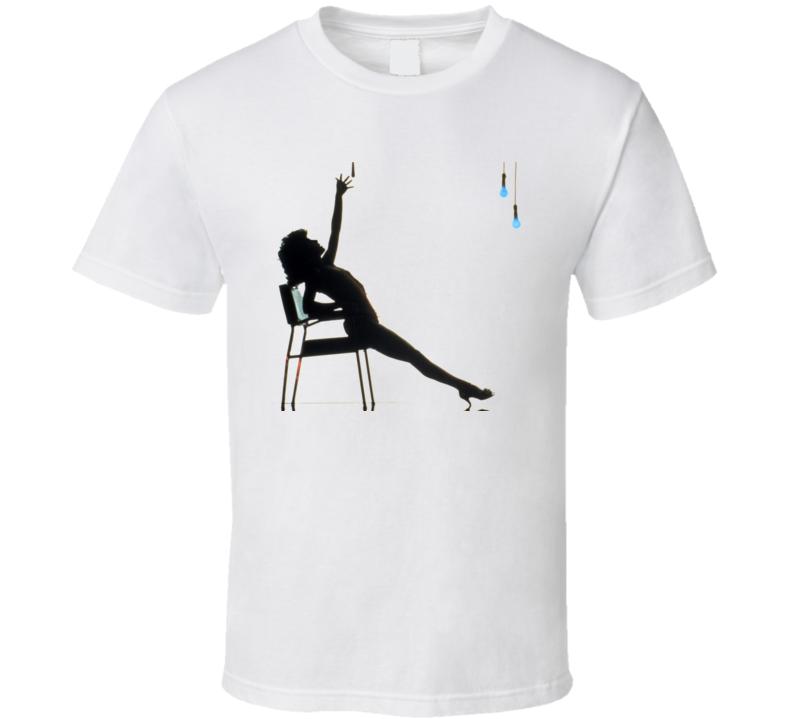 Flashdance Jennifer Beals Strip Tease Dance T Shirt