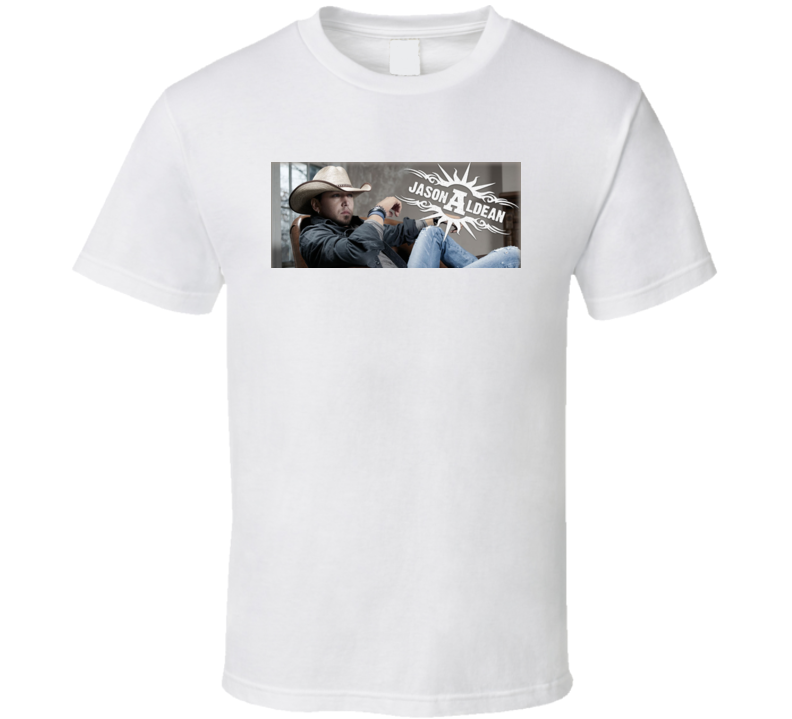 Jason Aldean Country Big Green Tractor T Shirt