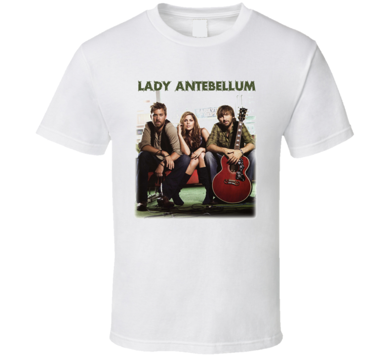 Lady Antebellum Country Need You Now T Shirt