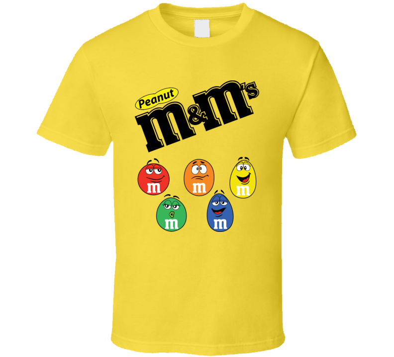 Peanut M And Ms Chocolate T Shirt