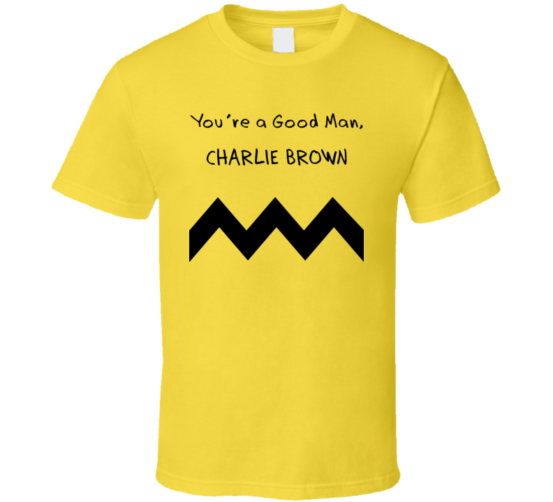 Charlie Brown Retro Tv Cartoon T Shirt