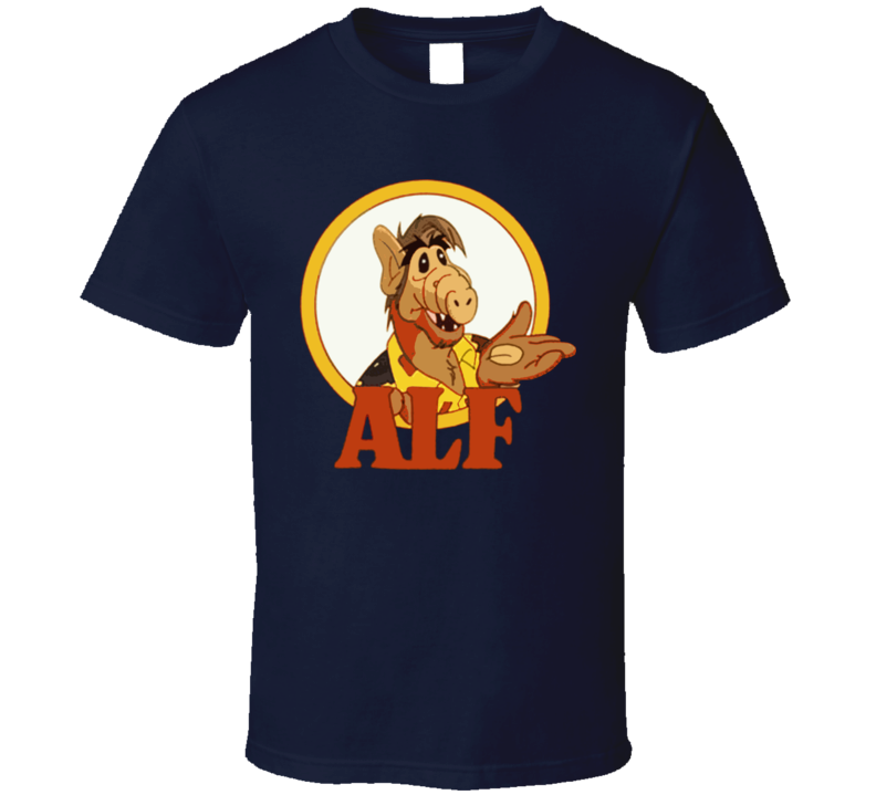 Alf Retro 80S Tv Show T Shirt