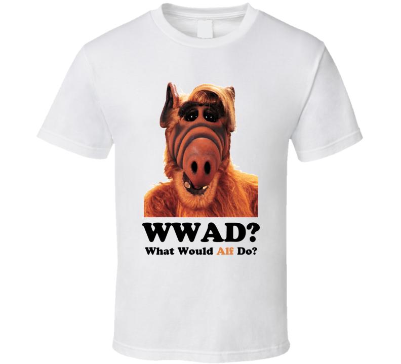 What Would Alf Do Cartoon Alf Tales Show 80S T Shirt