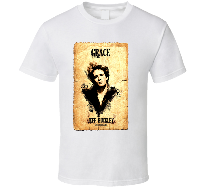 Jeff Buckley Concert Poster Live At Lowlands T Shirt