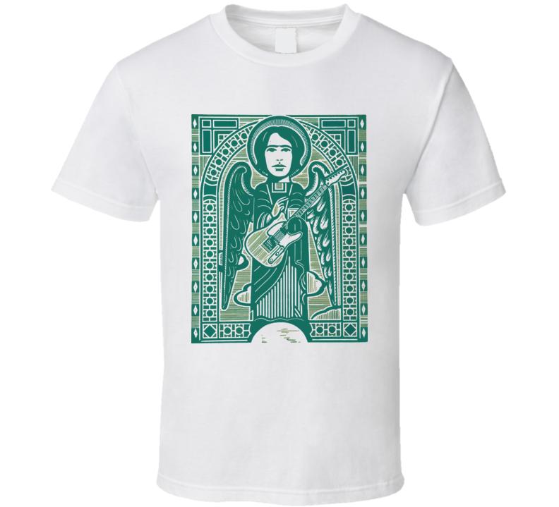 Jeff Buckley Angel Art Hallelujah Saint T Shirt