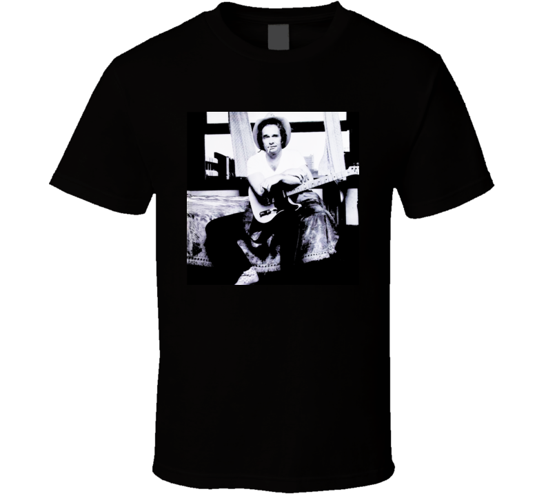 Merle Haggard Retro Country Music T Shirt