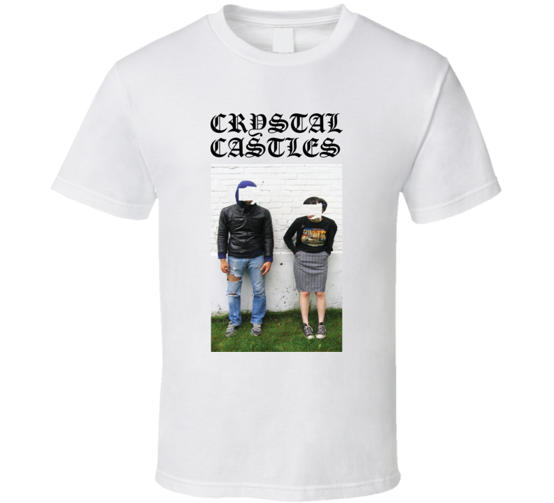Crystal Castles Electronic Music Cool T Shirt