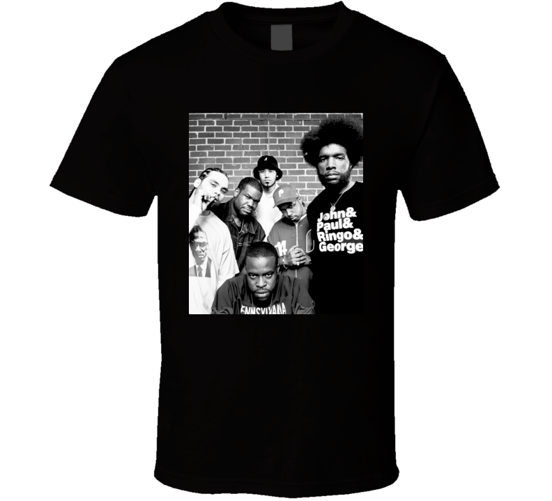 The Roots Hip Hop Quest Love Tariq Rap T Shirt