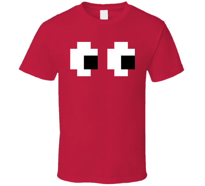 Pac Man Video Game Retro 80s 90s Halloween Costume T Shirt