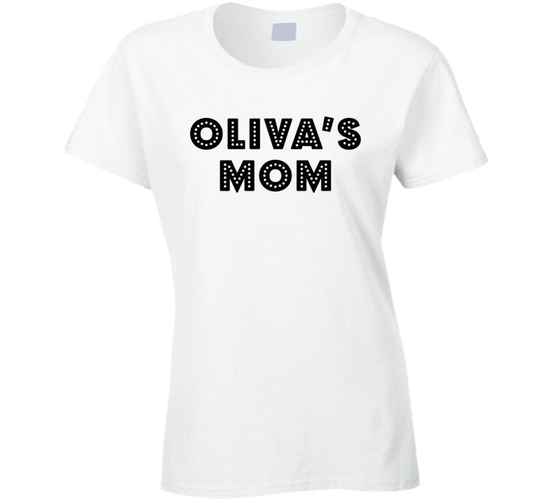 Team Sports Hockey Mom Soccer Mom Cheer Mom Dance Mom Proud Back Print T Shirt