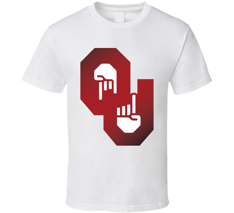 Horns Down Upside Down Longhorn Texas Football Oklahoma T Shirt